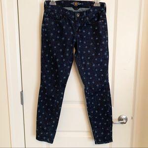 Lucky Brand | Printed Charlie Skinny Jeans